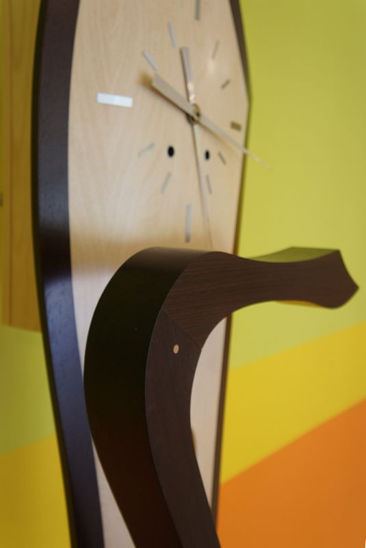 Horloge comtoise contemporaine
